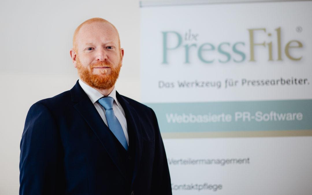 Florian Fischer ist neuer PressFile-Geschäftsführer