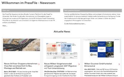 Der PressFile Newsroom: Das neue Content Hub für PR-Profis